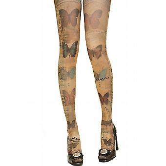 Waooh - Fashion - trykt tights Butterfly