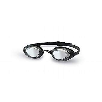 Head Stealth Swimming Goggle - Smoke Lenses - Black