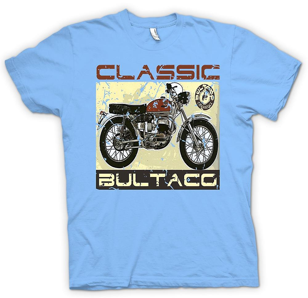 Mens t-skjorte-Bultaco Classic Dirt Bike