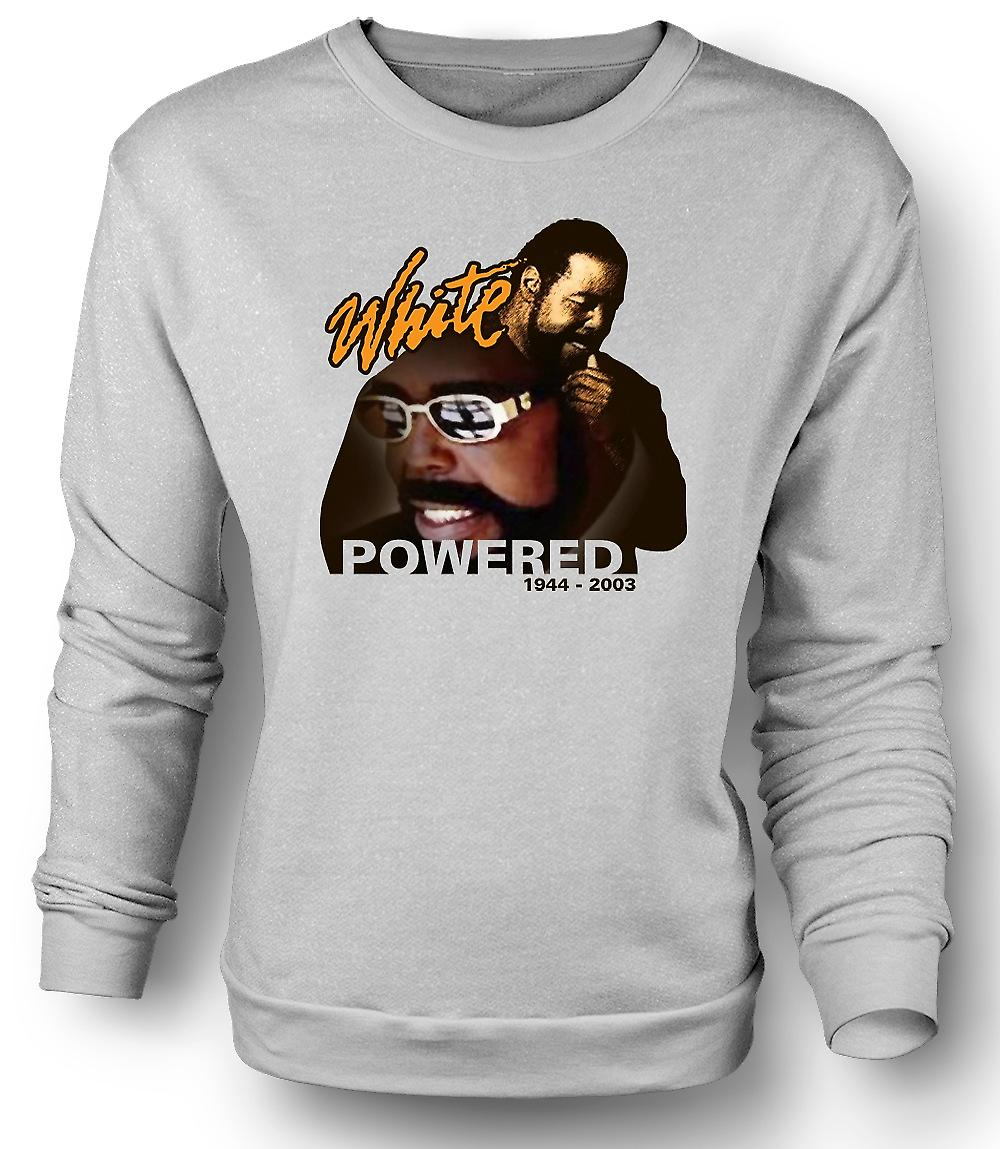 Mens Sweatshirt Barry White - Powered