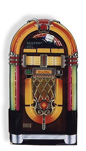 Wurlitzer Jukebox (Party Prop) - Lifesize kartong Cutout / Standee