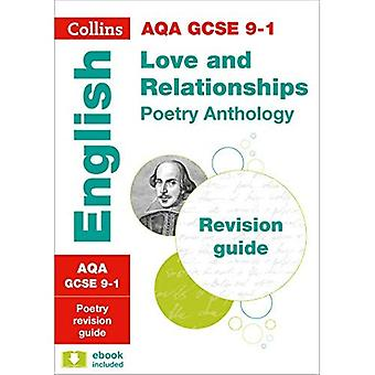 AQA GCSE Poetry Anthology: Love and Relationships: Revision Guide (Collins GCSE Revision and Practice - New 2015...