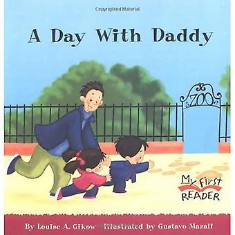 En dag med pappa (min första läsare)