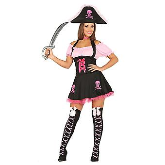 Womens Funny Pirate Fancy Dress Costume