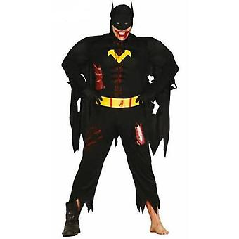 Guirca Costume Black Hero Zombie Adult L 52-54 (Babies and Children , Costumes)