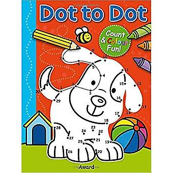 Dot to Dot Puppy and More: Counting & Colouring Fun!