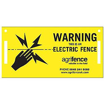 Agrifence Warning Signs (H4873) (Pack Of 5)