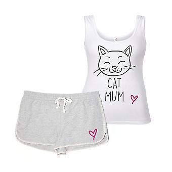 Cat Mum Pyjama Set Cat PJ's
