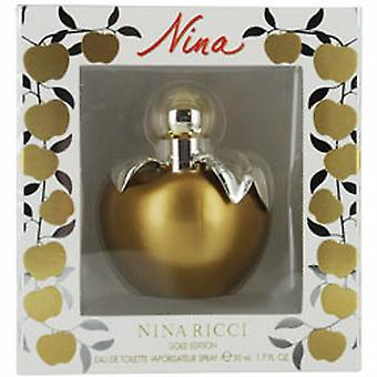 NINA Edt spray 50 ml (gold edition)