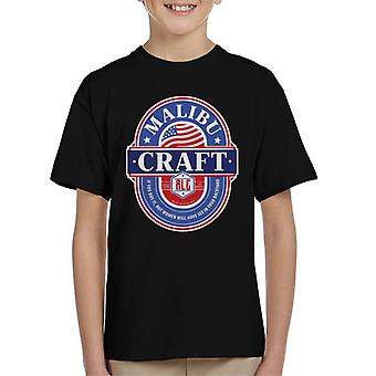 Malibu Craft Ale Kid's T-Shirt