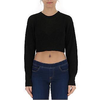 Laneus Black Viscose Sweater