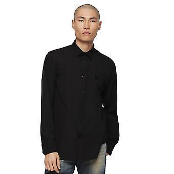 Diesel S-Bill camisa-negro