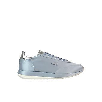 Ghoud Light Blue Fabric Sneakers