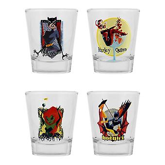 Gotham Girls Shot Glasses