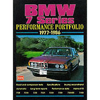 BMW 7 Series Performance Portfolio 1977-86 - A Collections of Articles