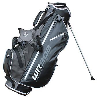 Masters WR902 waterdichte standaard dragen Golf Bag 4 Way top zwart