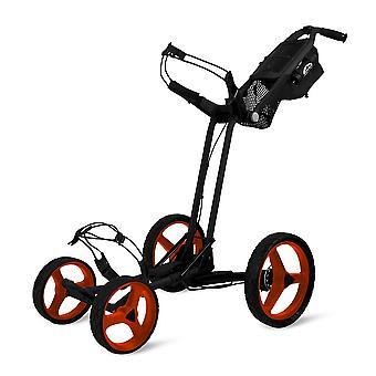 Sun Mountain Pathfinder 4 Wheel Push Cart Golf Trolley Schwarz/Inferno