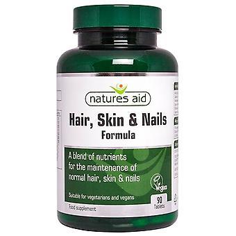 Nature's Aid Hair; Skin and Nails Formula Tablets 90