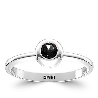 Oklahoma State University Engraved Black Onyx Ring