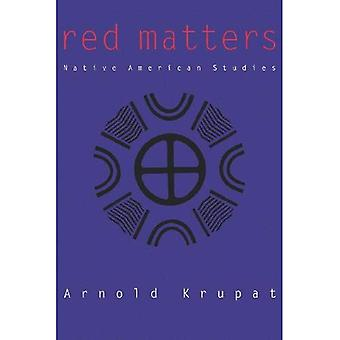 Red Matters: Native American Studies