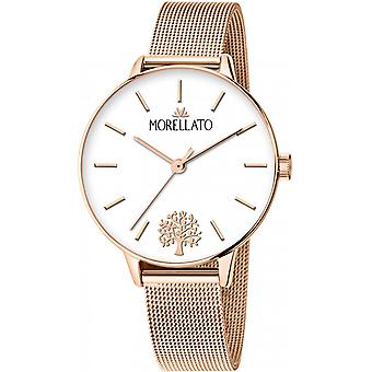 Morellato Nymph Quartz Analog Women Watch with R0153141540 Gold Plated Stainless Steel Bracelet