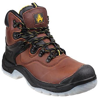 Amblers Safety Mens FS197 Shock Absorbing Waterproof Lace up Safety Boot