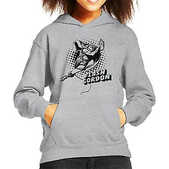 Flash Gordon Seil Swing Kid's Kapuzen Sweatshirt