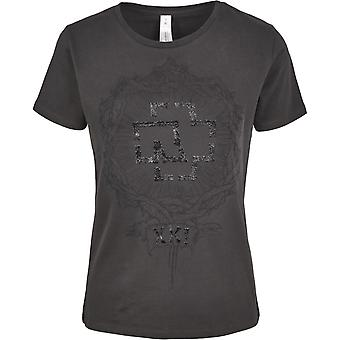 Rammstein of ladies top - XXI charcoal