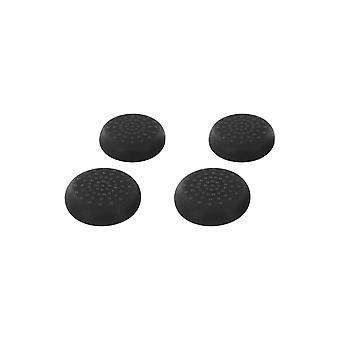 Tpu thumb grip stick caps for sega dreamcast controllers - 4 pack black