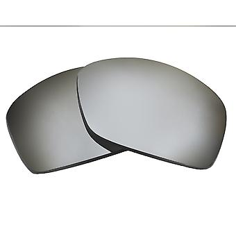 Replacement Lenses Compatible with OAKLEY Hijinx Silver Mirror