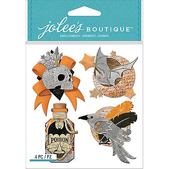 Jolee's Boutique Dimensional Stickers-Vintage Metallic Charms E5021783