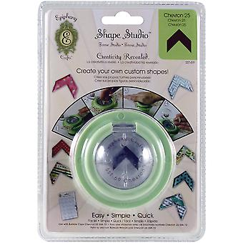 Epiphany Crafts Shape Studio Tool Chevron Ecsst 69