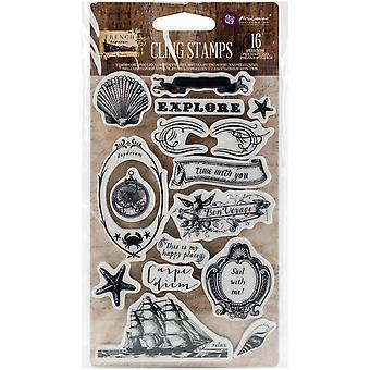 French Riviera Cling Rubber Stamps 4