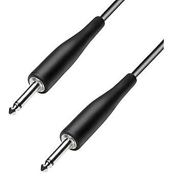 Paccs 6.3 mm Jack Instrument cable Black