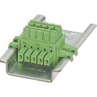 Phoenix Contact 2869728 ME 6.2 TBUS-2 1.5/5-ST-3.81 GN DIN Rail Bus Connector Content: 1 pc(s)
