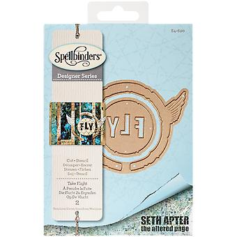 Spellbinders Shapeabilities stirbt-Take Flight S4620