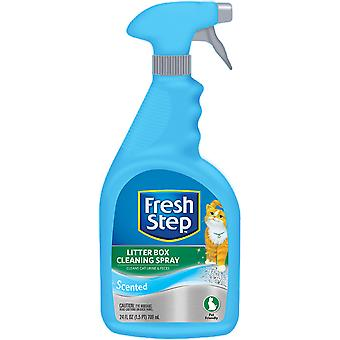 Fresh Step Litter Box Cleaning Spray-24oz FFP8296