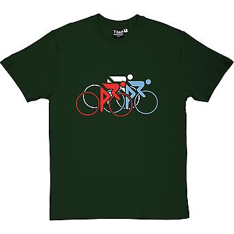 Tour De France Tricolor Herren T-Shirt