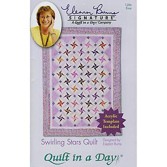 Eleanor Burns Muster wirbelnden Stars Quilt EB-1286