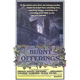 Burnt Offerings Movie Poster Print (27 x 40)