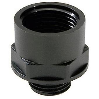 Cable gland adapter PG9 M20 Polyamide Black (RAL 9005) Wiska EX-APM 9/20 1 pc(s)