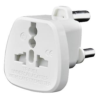 AMOS South Africa Travel Adapter (White)