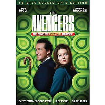 Vingadores: Emma Peel Megaset [DVD] EUA importar
