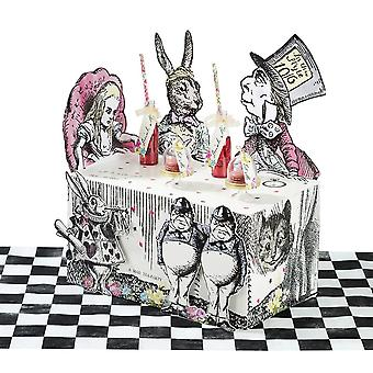 Talking Tables Truly Alice Alice in Wonderland Mad Hatter Party Buffet Centerpiece for a Tea Party or Birthday