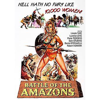 Slaget ved Amazoner [DVD] USA importerer