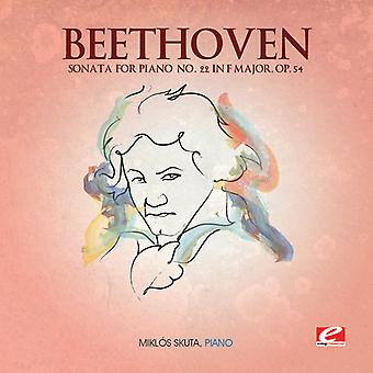 L.W Beethoven - Beethoven: Sonate für Klavier Nr. 22 in F-Dur, op. 54 [CD] USA import