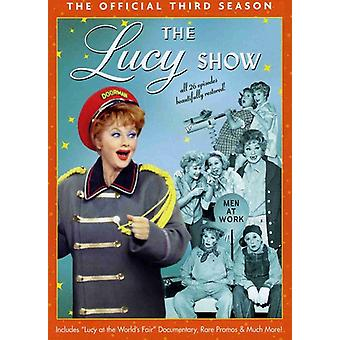 Lucy Show - Lucy Show: The Official trzeciego sezonu [DVD] USA import