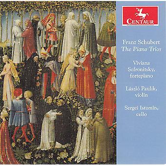 Schubert / Sofronitsky / Paulik / Istomin - Pno Trios [CD] USA import