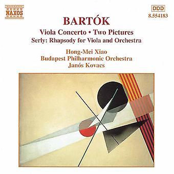 Bartok/Serly - Bart K: Viola konsert; To bilder; Serly: Rhapsody for bratsj og orkester [DVD] USA importere