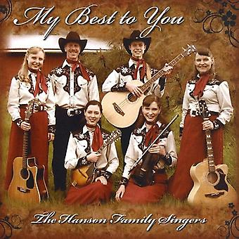 Hanson Family Singers - My Best to You [CD] USA import